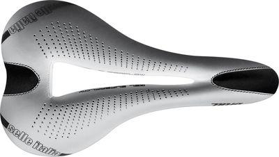 Selle Italia Diva Gel Ti316 Superflow Bike Saddle - Blanco - S3 - 135mm Wide, Blanco