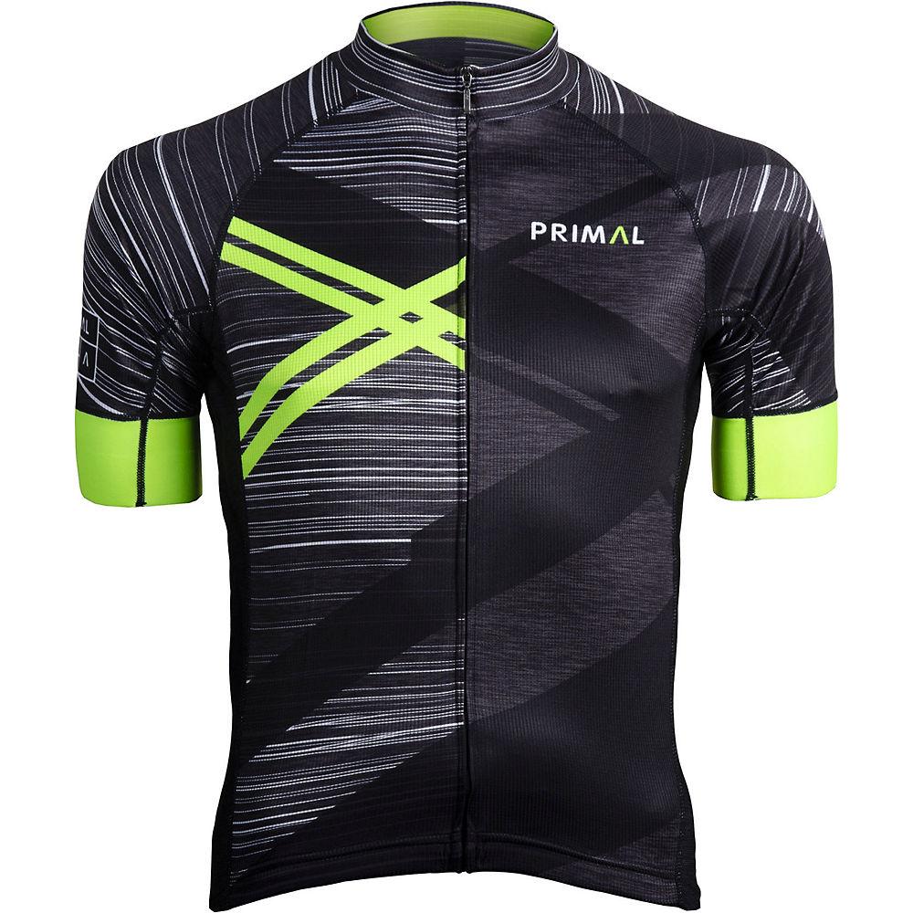 Primal Team Primal Asonic Evo 2.0 Jersey - Black-green - Xxl  Black-green