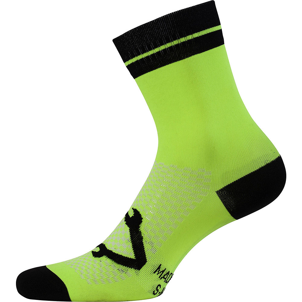 Image of Nalini AIS Lampo 2.0 Socks - Jaune - L/XL/XXL, Jaune