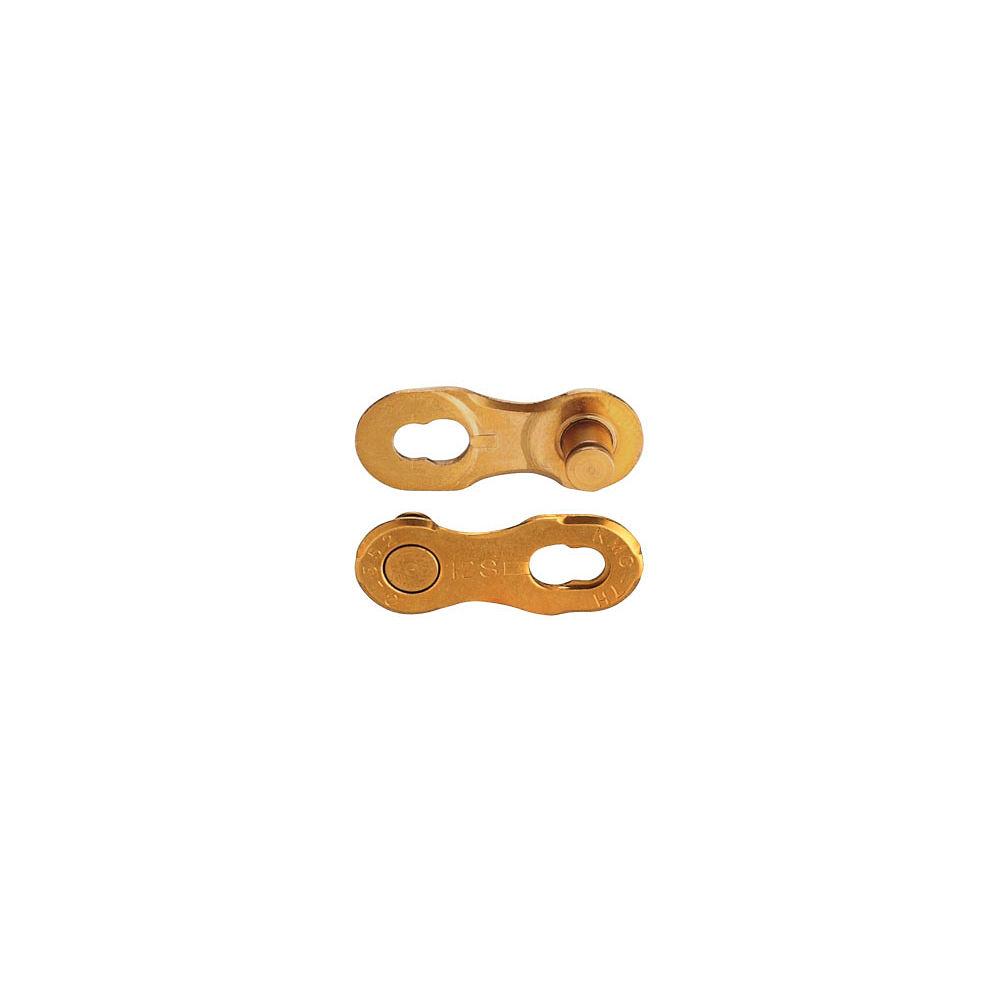 Kmc Missing Link Pair - Gold Ti-n - 12 Speed  Gold Ti-n