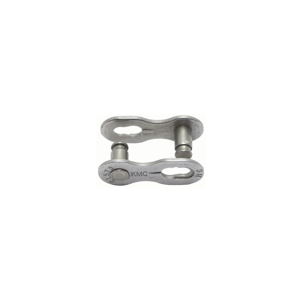Kmc Missing Chainlink Pair - Silver Ept 6 - 7.3mm  Silver Ept 6