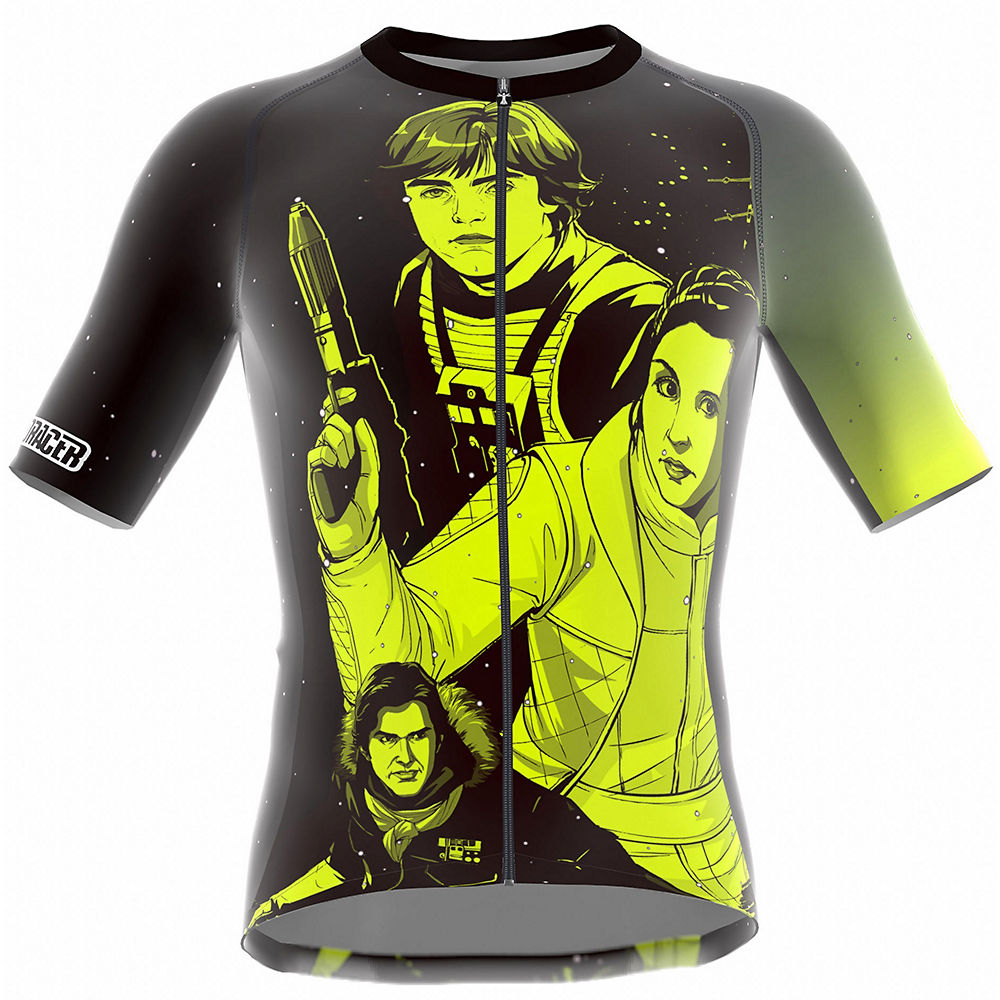 Image of Bioracer Kids Star Wars Graphic Jersey - Lemon Lena - 10-11 Years, Lemon Lena