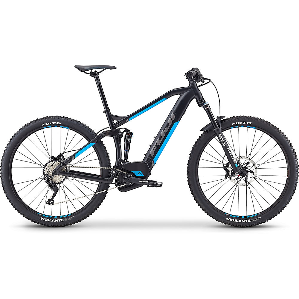 "Image of Fuji Blackhill Evo 29 1.5 Intl E-Bike 2019 - Satin Black - 43cm (17""), Satin Black"