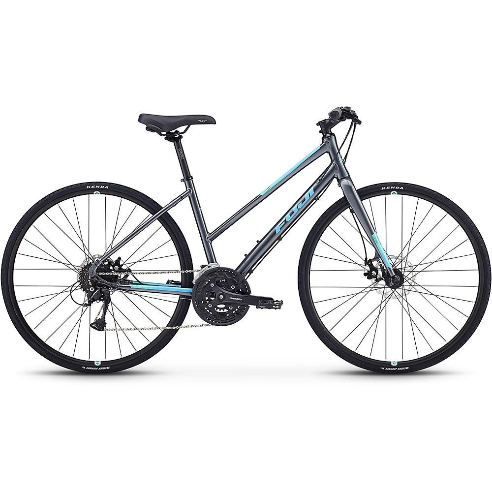 """Image of Fuji Absolute 1.7 ST Women's City Bike 2020 - Gris foncé - 43cm (17""""), Gris foncé"""