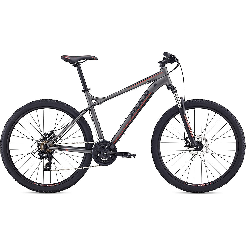 Fuji Nevada 27.5 1.9 Hardtail Bike 2020 - Satin Anthracite - 48cm (19