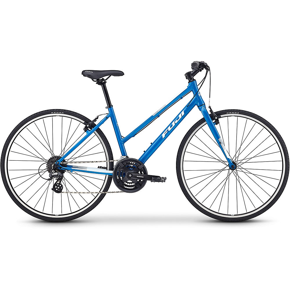 "Image of Fuji Absolute 2.1 ST Women's City Bike 2020 - Bleu - 43cm (17""), Bleu"
