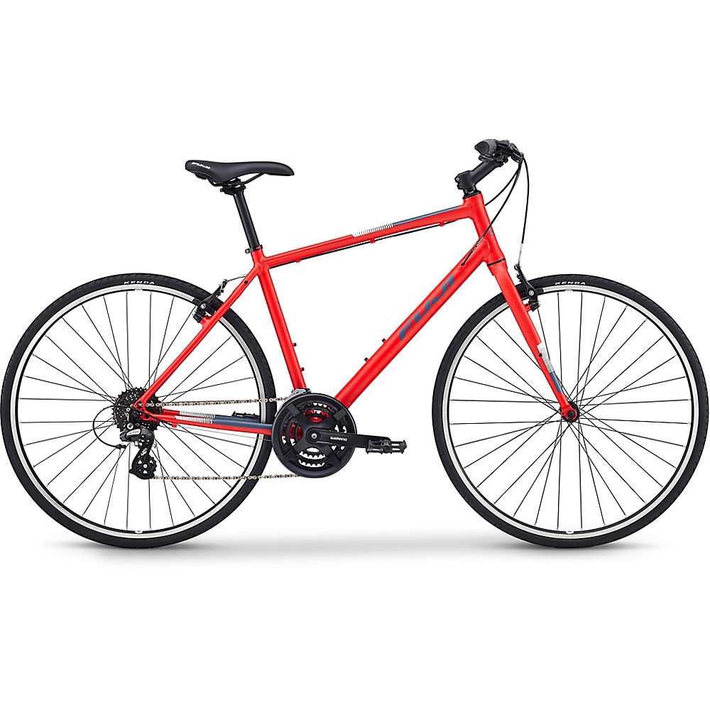 "Image of Fuji Absolute 2.1 City Bike 2020 - Satin Rouge - 43cm (17""), Satin Rouge"