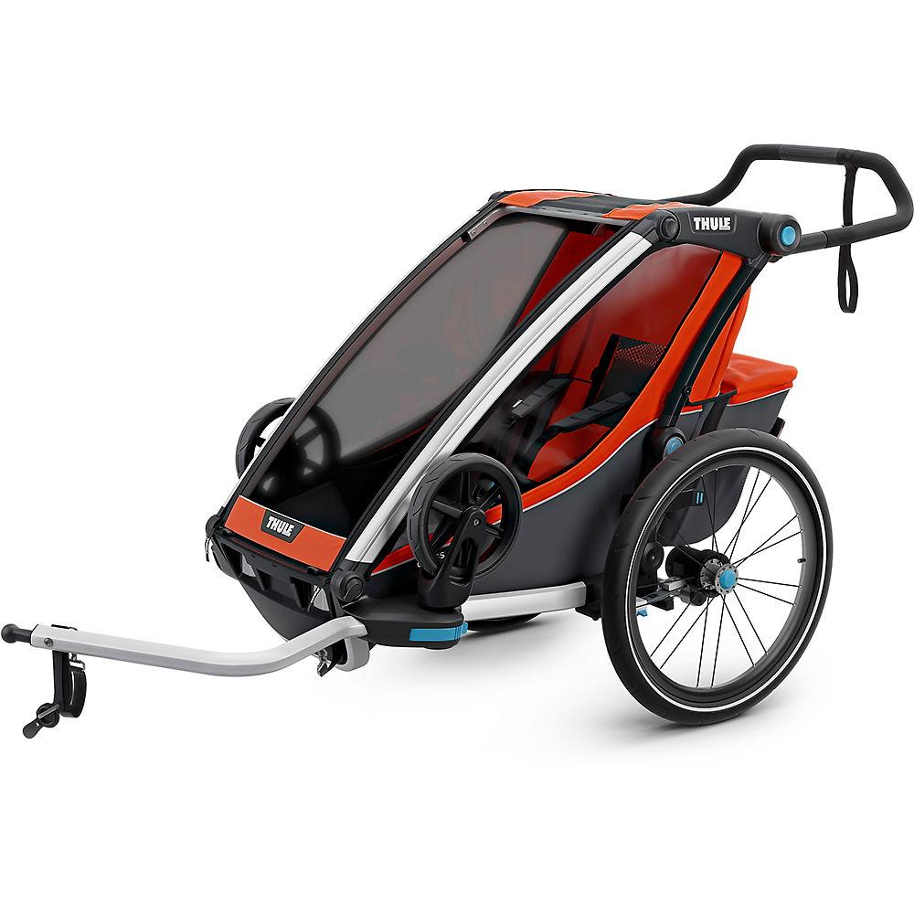 Thule Chariot Cross 1 Child Trailer – Orange, Orange