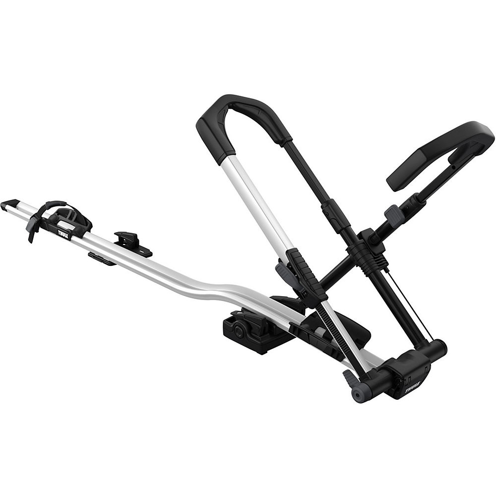 Thule 599 Upride Locking Bike Rack - Silver-black  Silver-black
