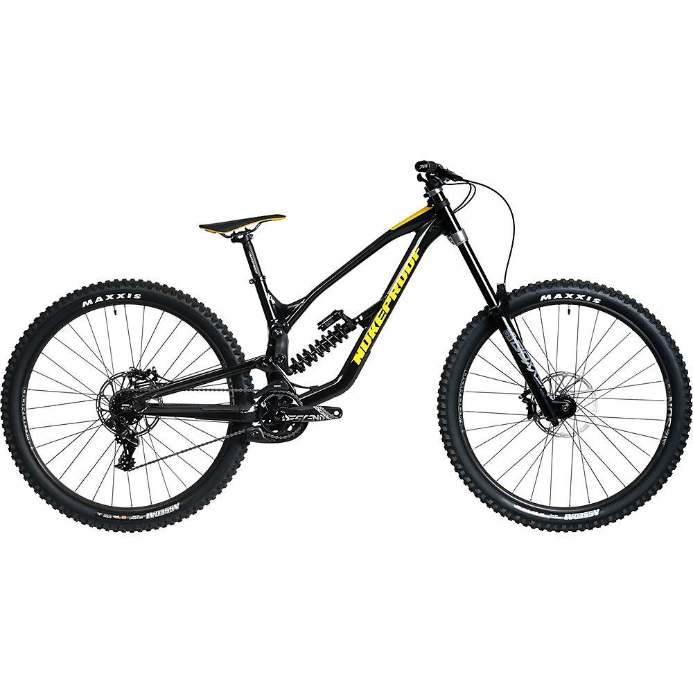 Bicicleta Nukeproof Dissent 290 Comp DH (GX) 2020 - Negro/Amarillo, Negro/Amarillo