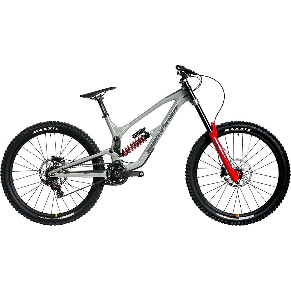 Bicicleta de descenso Nukeproof Dissent 275 RS (XO1) 2020 - Concrete Grey, Concrete Grey