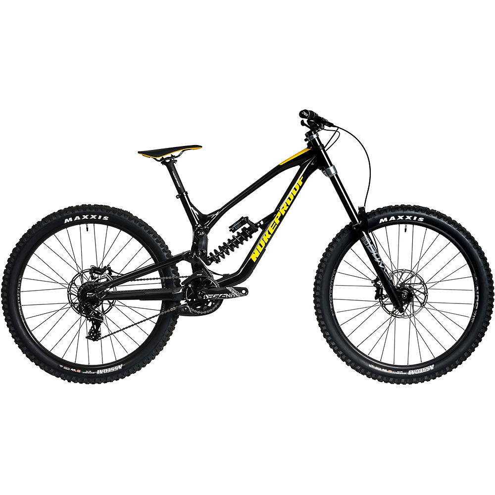 Bicicleta Nukeproof Dissent 275 Comp DH (GX) 2020 - Negro/Amarillo - XL, Negro/Amarillo