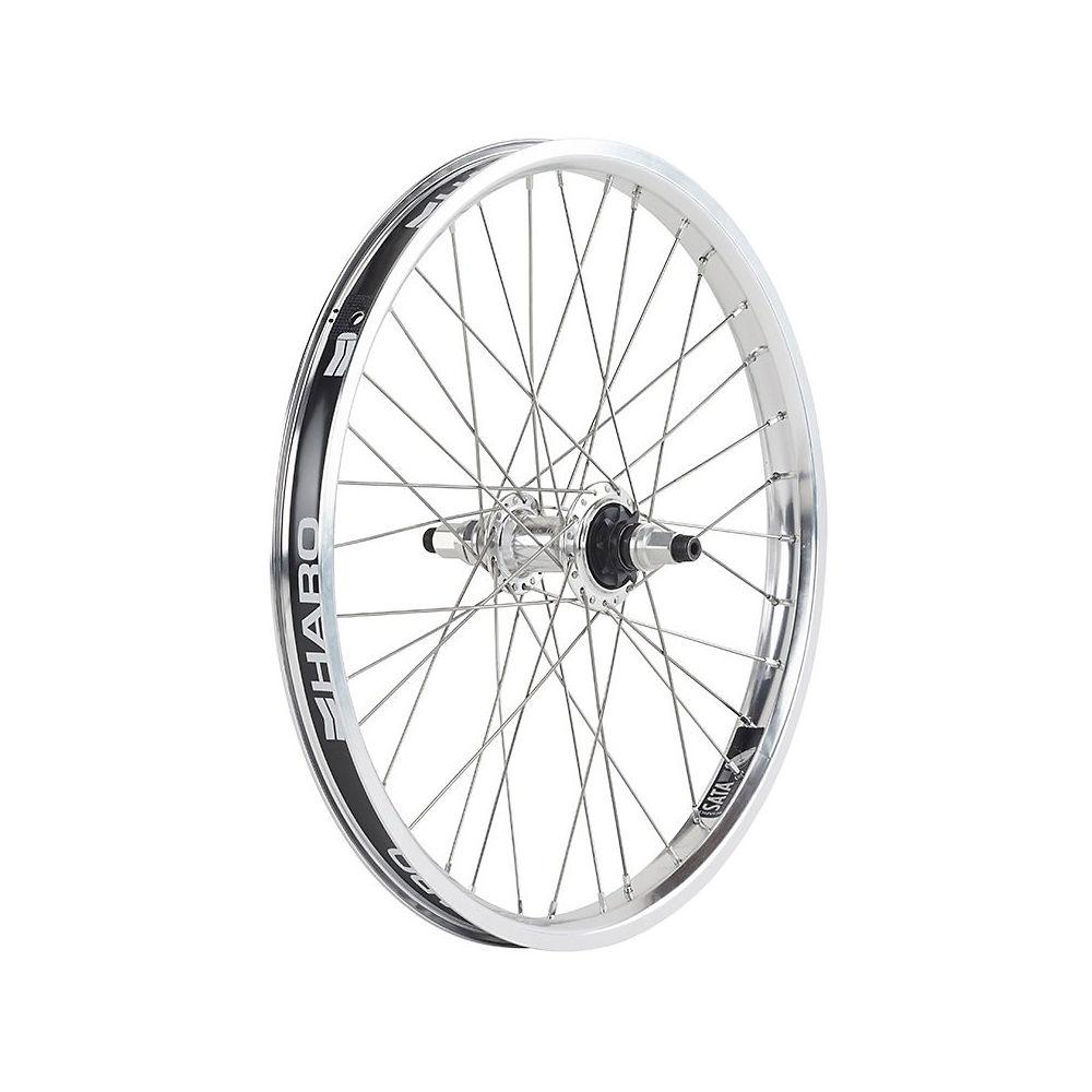 Image of Haro Sata Rear BMX Wheel - Polished, Polished