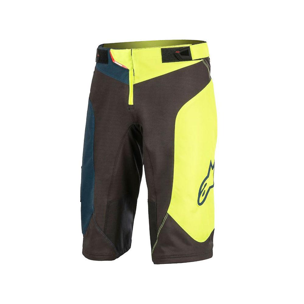Alpinestars Youth Vector Shorts  - Black-acid Yellow - 22  Black-acid Yellow