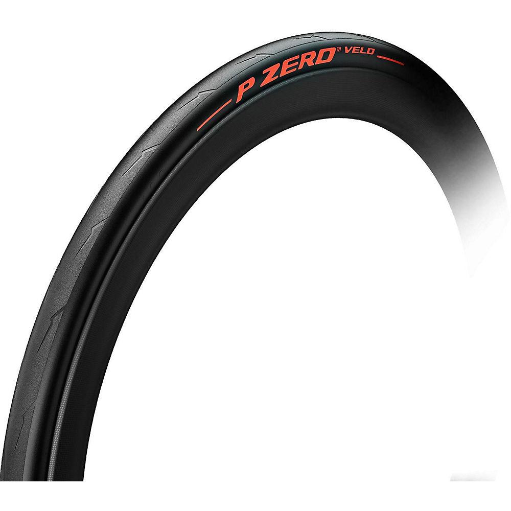 Image of Pirelli P Zero Velo Colour Edition Road Tyre - Red - Folding, Red