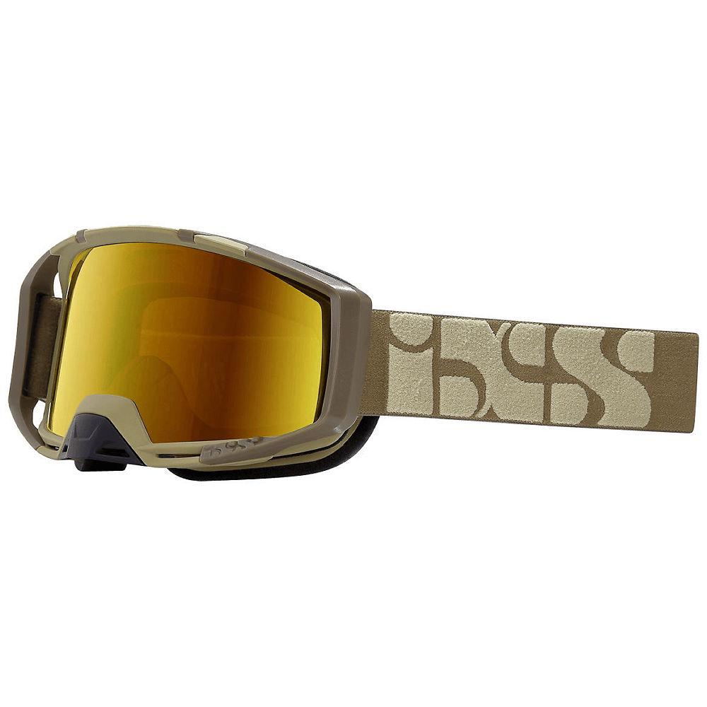 IXS Trigger MTB Goggle - Camel-Mirror Gold, Camel-Mirror Gold