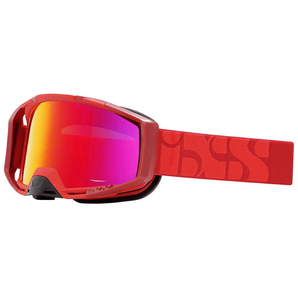 IXS Trigger MTB Goggle - Racing Red-Mirror Crimson, Racing Red-Mirror Crimson