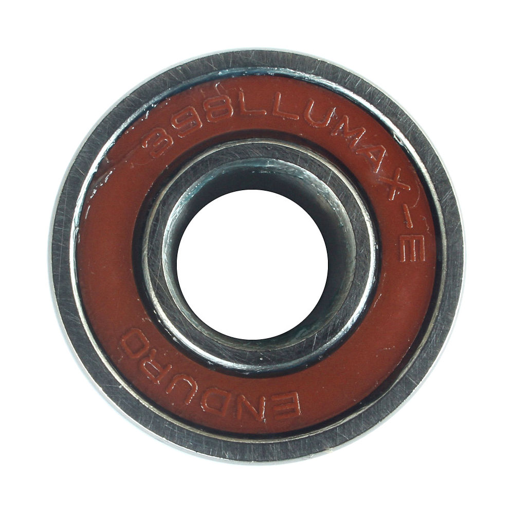 Image of Enduro Bearings ABEC3 398 LLU Max E Bearing - Argent - 9x19x10/11mm, Argent
