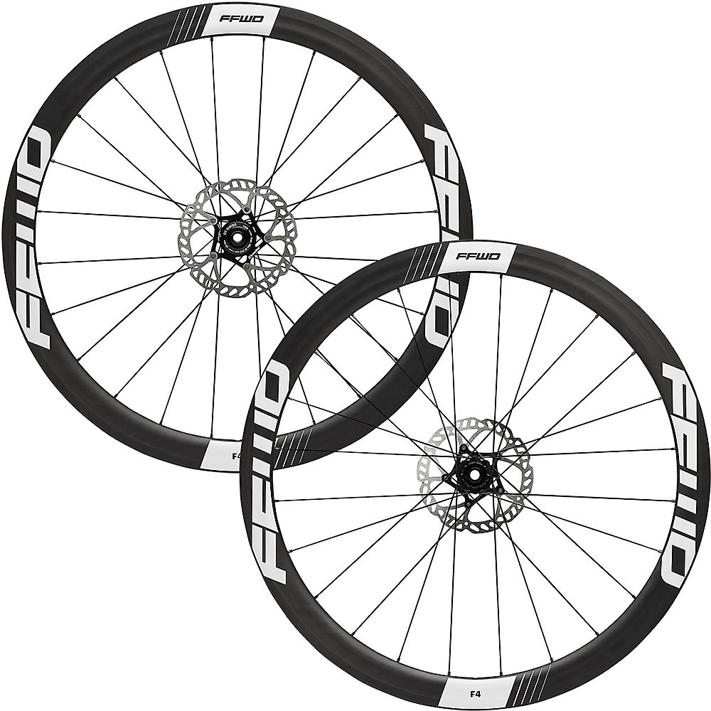 Fast Forward F4D FCC DT240 SP Wheelset - Blanco - Shimano, Blanco