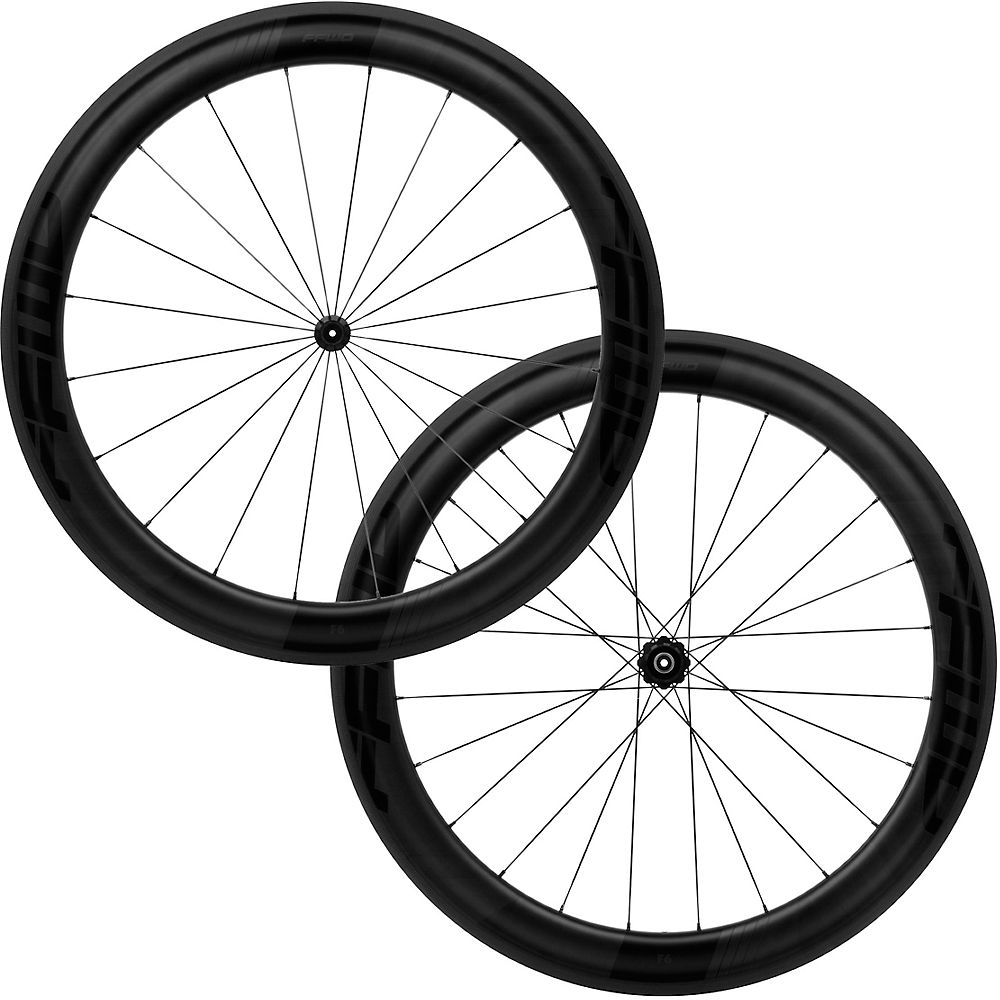Fast Forward F6R FCC DT240 SP Wheelset - Negro mate - Shimano, Negro mate