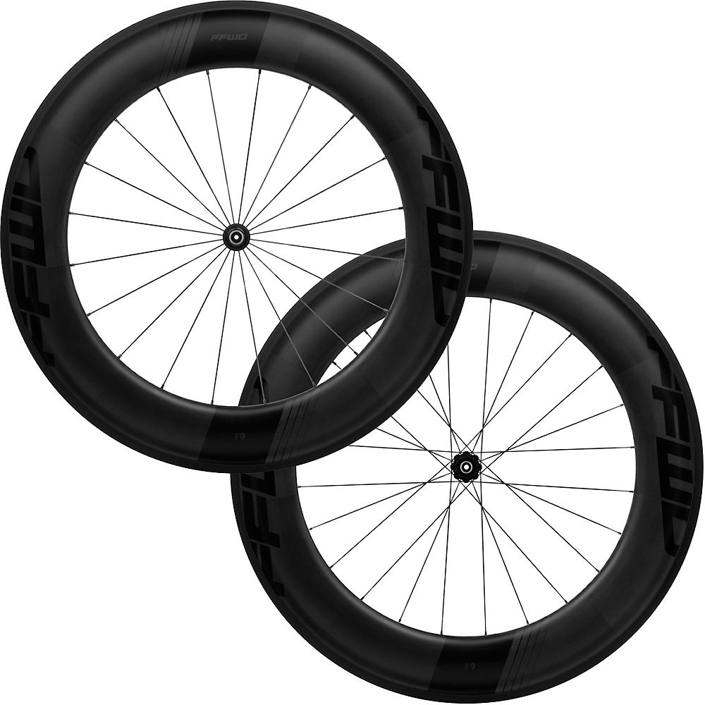 Fast Forward F9R FCC DT240 SP Wheelset - Negro mate - Shimano, Negro mate
