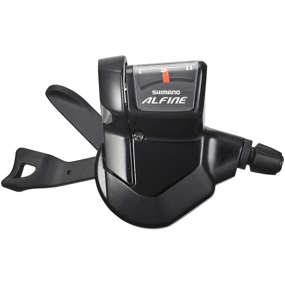 Shimano Alfine 11 Speed Rapidfire Lever - Black, Black