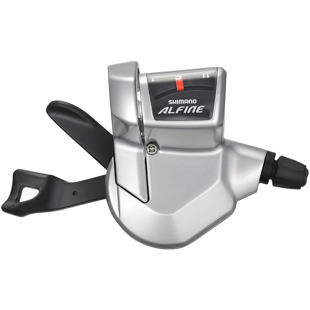 Shimano Alfine 11 Speed Rapidfire Lever - Silver, Silver