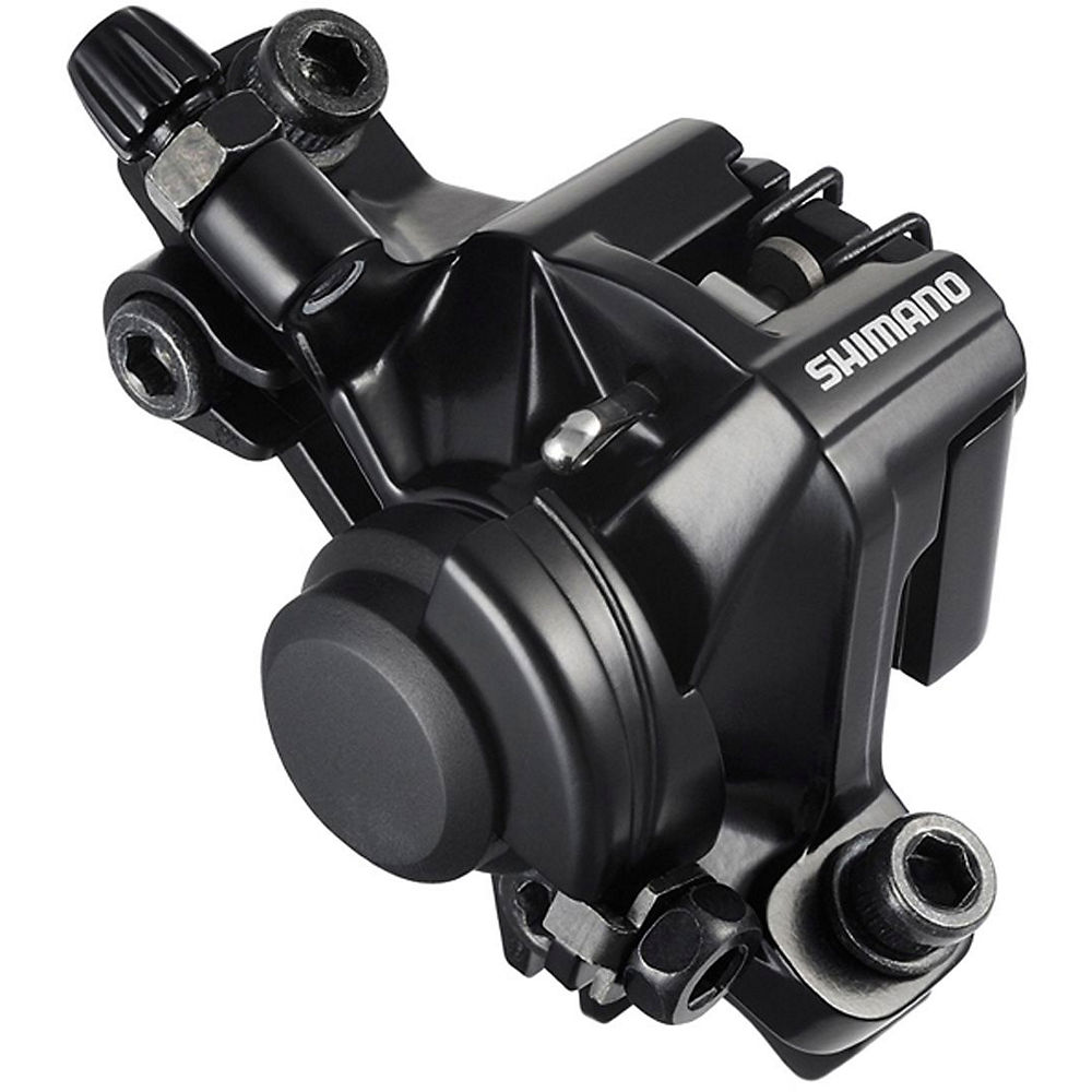 Shimano M375 Disc Brake Caliper - Black, Black