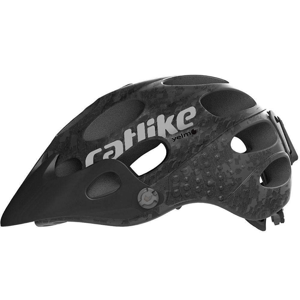 Image of Catlike Yelmo MTB Helmet 2019 - Noir Mat - S, Noir Mat