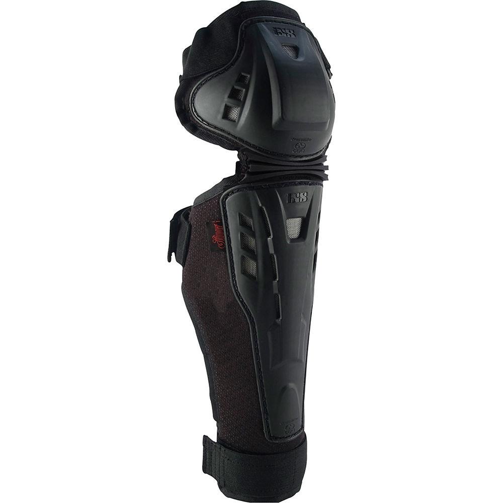 IXS Hammer Knee-Shin Guard - Black, Black