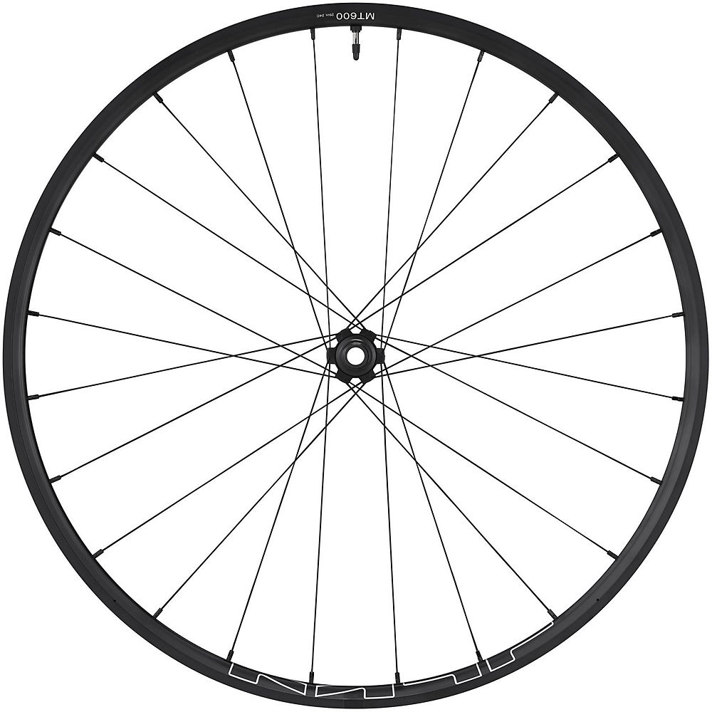 Shimano MT600 Tubeless Front Wheel - Black - 29