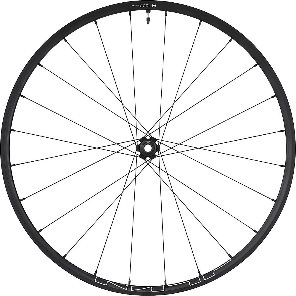 Shimano MT600 Tubeless BOOST Front Wheel - Black - 27.5
