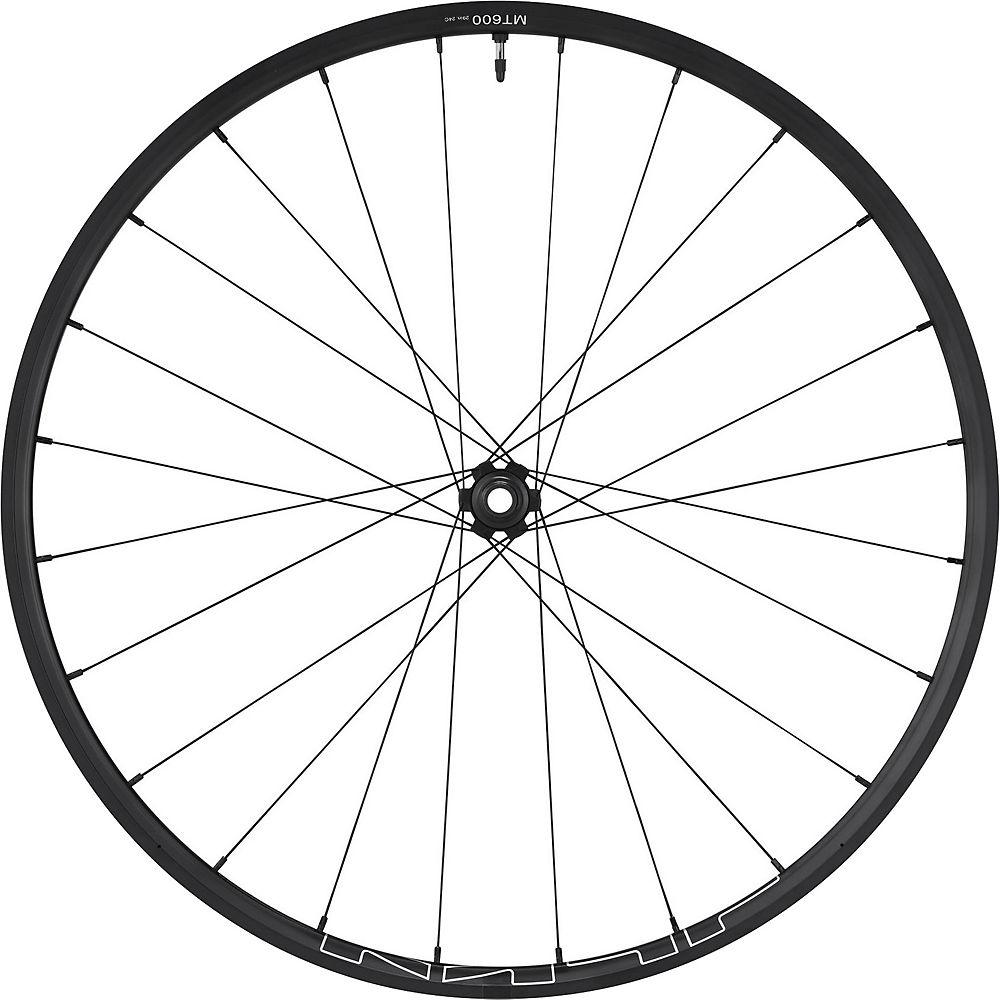 Shimano Mt600 Tubeless Boost Front Wheel - Black - 27.5 (650b)  Black