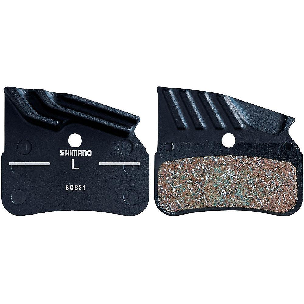 Shimano N04C Metal Disc Brake Pads - Metal - Radiator Fin