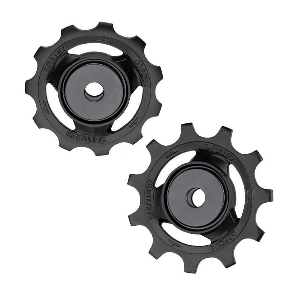 Shimano Dura Ace R9100-R9150 Jockey Wheels - Black, Black