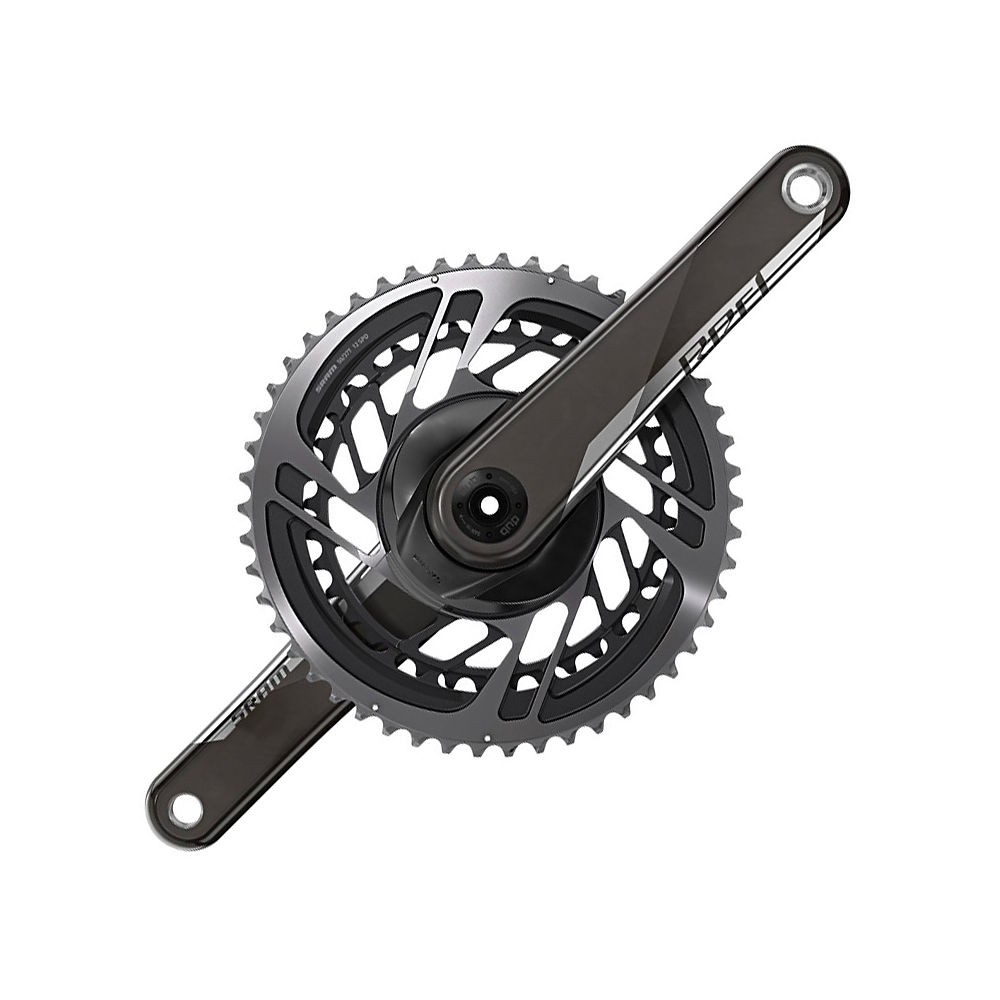 Sram Red Dub 12 Speed Road Double Chainset - Black - 48.35t  Black