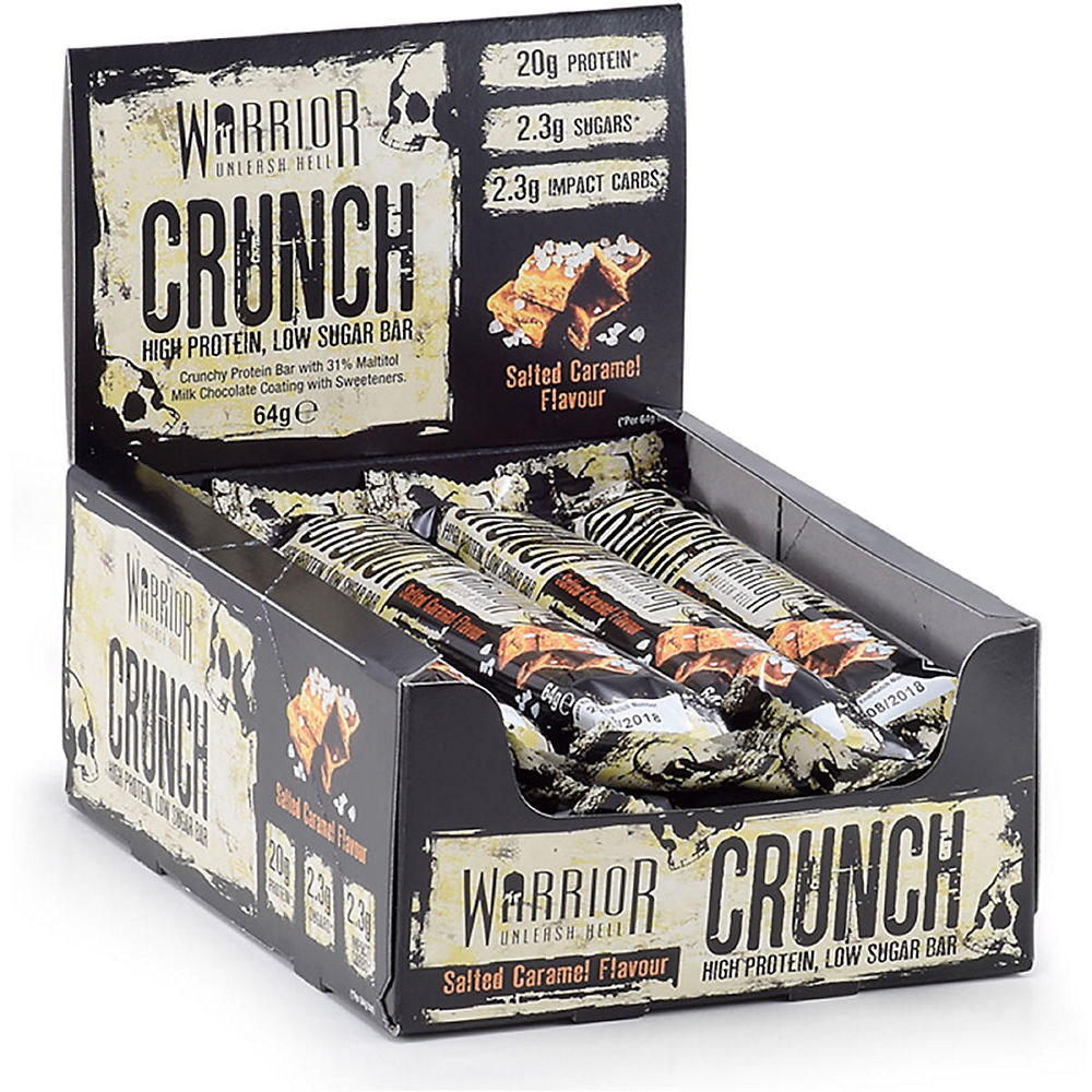 Image of Warrior Crunch Protein Bars - 12 x 64g