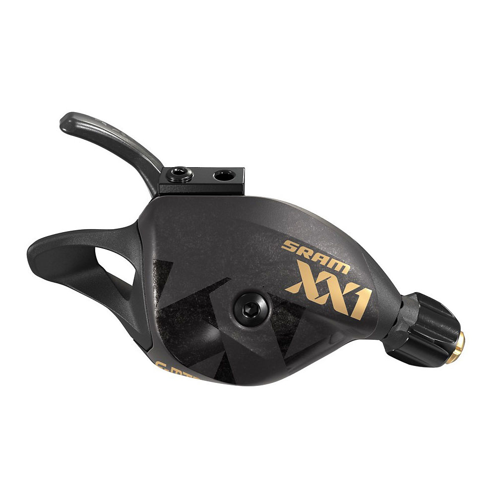 SRAM XX1 Eagle 12 Spd Single Click Shifter - Negro - Rear, Negro