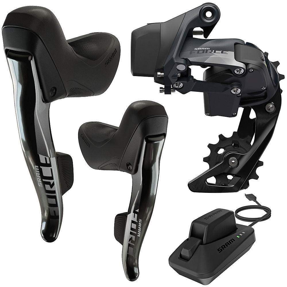 ComprarSRAM Force eTap AXS 1x12sp Road Groupset - Negro, Negro