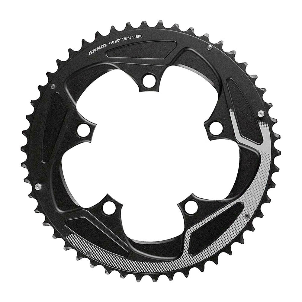 Sram X-glide 11 Speed Outer Chain Ring - Black - 46t  Black