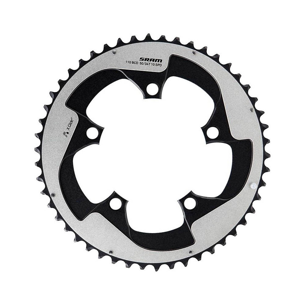 Sram X-glide 11 Speed Outer Chain Ring - Silver - 50t  Silver