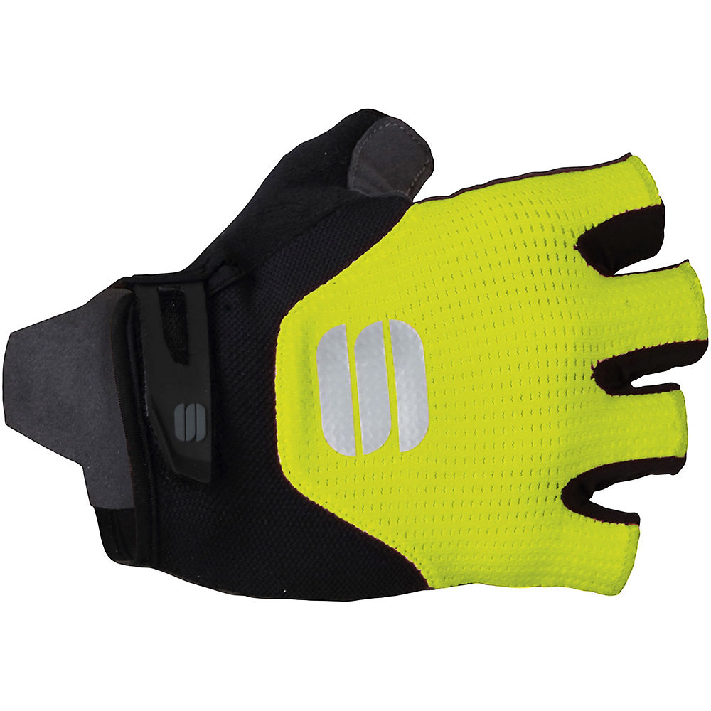Sportful Neo Gloves - Black-yellow Fluo - M  Black-yellow Fluo