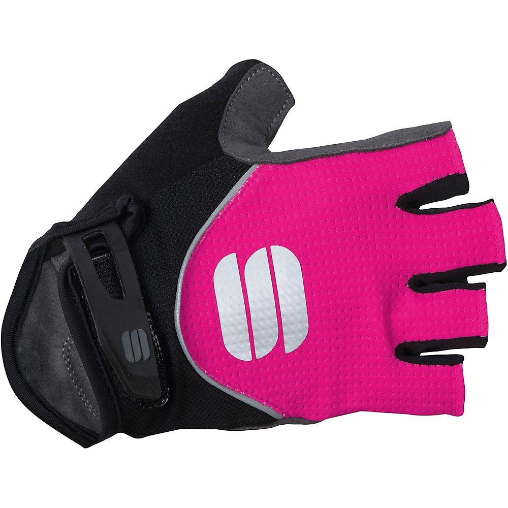 Sportful Womens Neo Gloves - Bubble Gum-black  Bubble Gum-black
