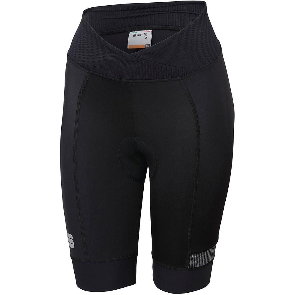 Sportful Womens Giara Shorts - Black - Xxl  Black