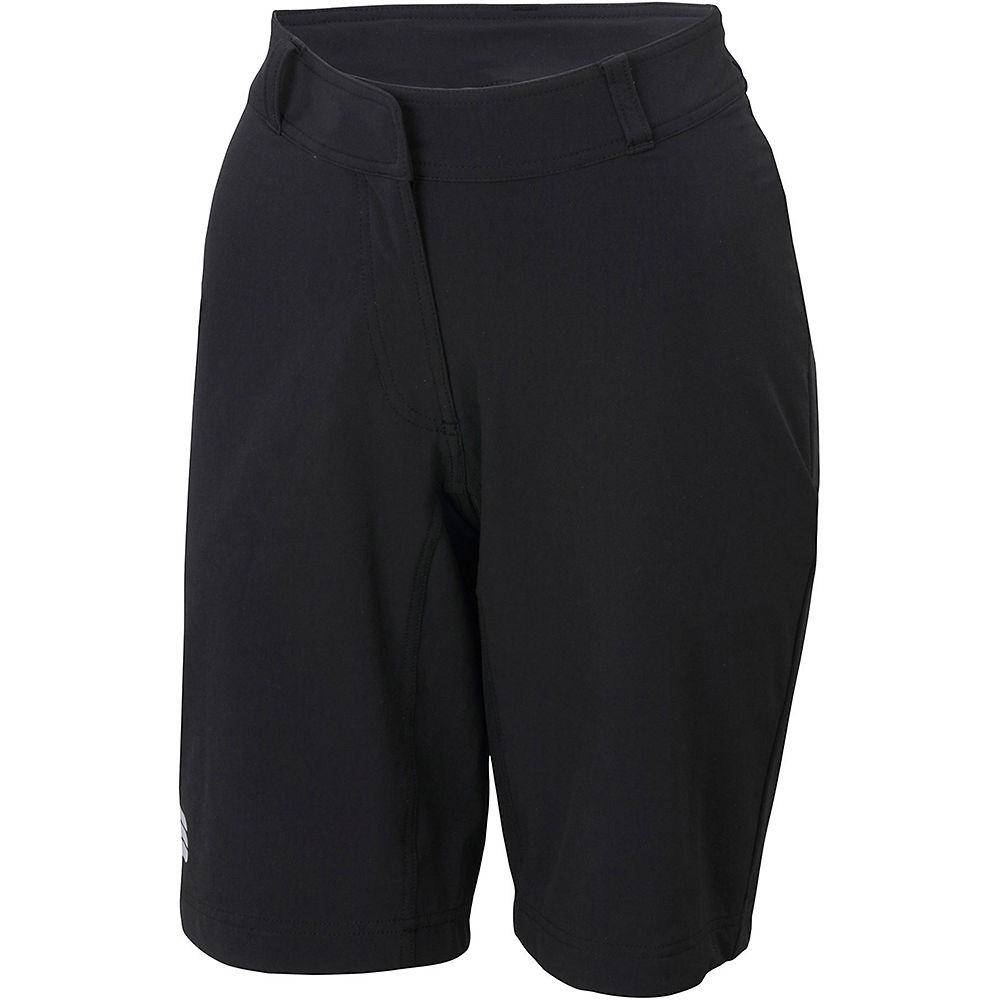 Sportful Womens Giara Over Shorts 2021 - Black - Xs  Black