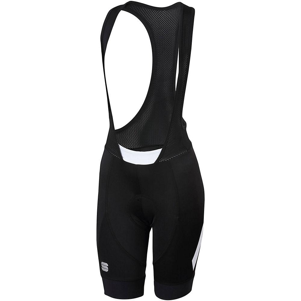 Sportful Womens Neo Bib Shorts - Black-white  Black-white