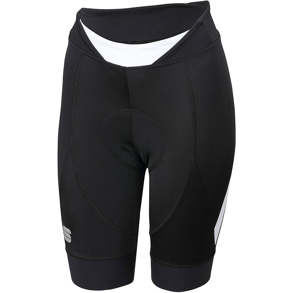 Sportful Womens Neo Shorts - Black-white - Xl  Black-white