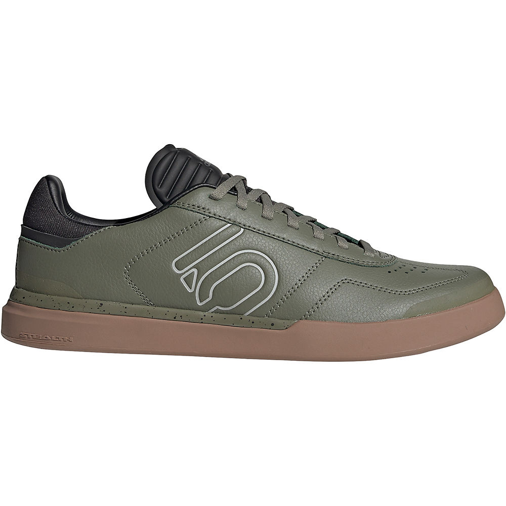 Image of Five Ten Sleuth DLX MTB Shoes - GREEN-GUM - UK 7, GREEN-GUM