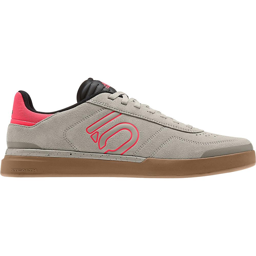 Zapatillas de MTB Five Ten Sleuth DLX - Grey-Red-Gum - UK 9, Grey-Red-Gum