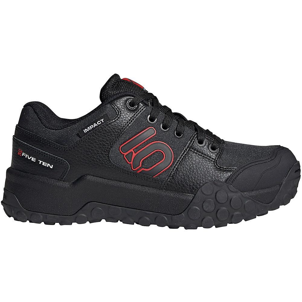 Five Ten Impact Low MTB Shoes 2019 – Black-Carbon-Red – UK 5.5, Black-Carbon-Red